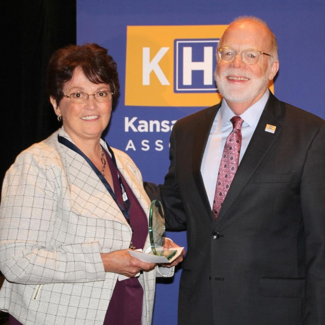 Kelly Davidson KHA Health Care Worker of the Year 2019